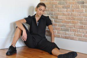 Macacão preto Mary jumpsuit